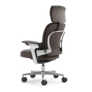 Steelcase Leap 464 Series WorkLounge High Back Leather Office Chair