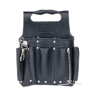 Ideal Industries Tuff Tote™ Tool Pouches   blk premium leather
