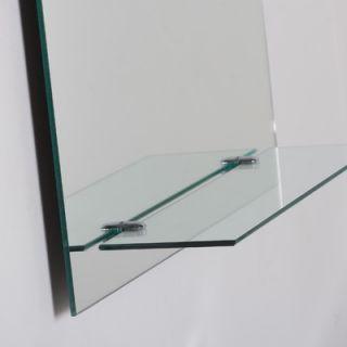 Decor Wonderland Arch Frameless Wall Mirror