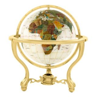 Alexander Kalifano 9 Full Mop Commander Globe with Three Leg Stand in