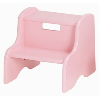 Little Colorado Kids Step Stool in Soft Pink   105 SP MDF