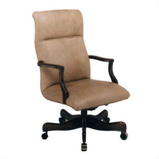 Leather Plain High Back Leather Swivel / Tilt Office Chair   103 ST