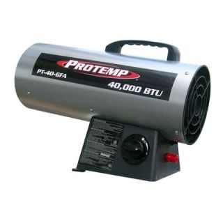 ProTemp 40000 BTU Propane Forced Air Heater   PT 40 GFA