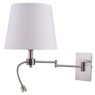 Kenroy Home Seymour 1 Light Wall Swing Arm Lamp