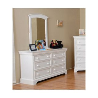 Comfort Decor Color Box 6 Drawer Dresser   SAV 011 70 W / SAV 011 71