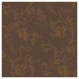 York Wallcoverings American Legacy Textured Scroll Wallpaper