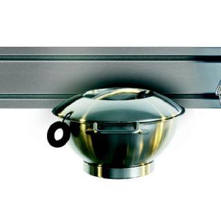Franke Rail System Salad Spinner in Stainless Steel
