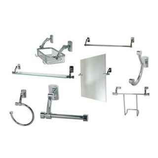 Innova Prestcot 8 Piece Bathroom Accessory Set   Prestcot 8