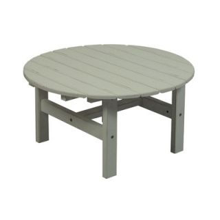 Great American Woodies Cottage Classic Round Coffee Table