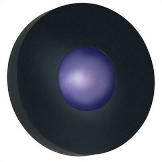 Kenroy Home Burst Outdoor Round Wall Sconce in Cobalt Blue