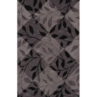 Dalyn Rug Co. Studio Black Checked Rug