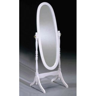 Bernards Cheval Mirror in White