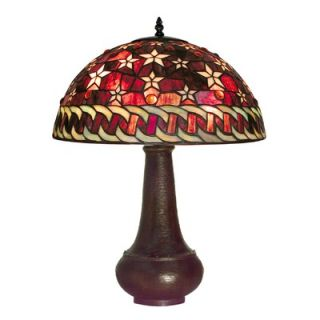 Warehouse of Tiffany Red Star Table Lamp   BB59+PS231