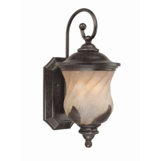 Westinghouse Lighting Byberry Outdoor Wall Lantern in Marbleized