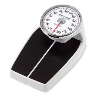 Health O Meter Large Raised Dial Scale, Black   HHM160LB