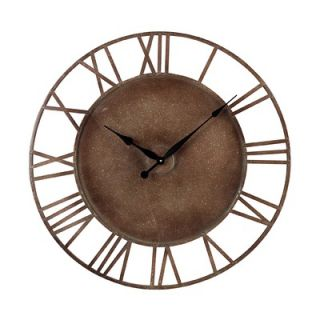 Industries Metal Roman Numeral Outdoor Wall Clock   128 1002