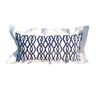 Lowcountry Linens Fretwork Lumbar Pillow   FRETWORK LUMBAR PILLOW