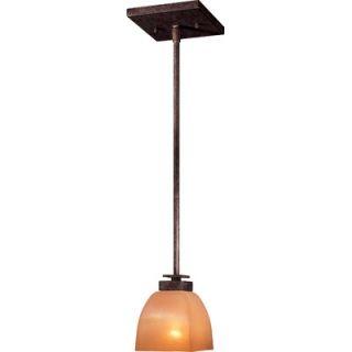 Minka Lavery Lineage 1 Light Mini Rod Drop Pendant   1257 357