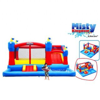 Blast Zone Misty Kingdom Bounce House   INF MISTYKINGDOM