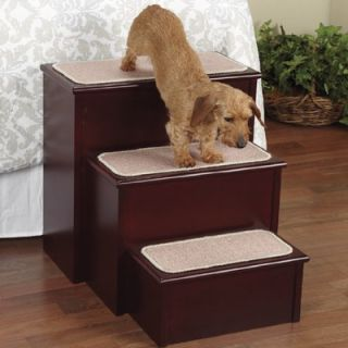 Pet Studio High Style Pet Step in Mahogany   US6553 54
