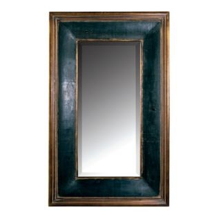 Uttermost Fabiano Large Wall Mirror in Aged Black