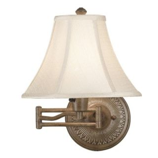 Kenroy Home Amherst Wall Swing Arm Lamp in Nutmeg Finish   21395NUT