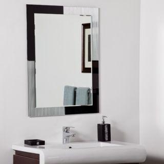 Decor Wonderland Jasmine Modern Bathroom Mirror