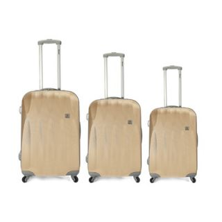 BENZI 3 Piece Hardsided Spinner Luggage Set