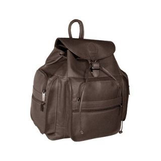 David King Multi Pocket Drawstring Backpack