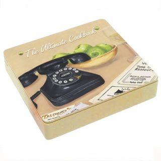 Lexington Studios Ultimate Cookbook Storage Box in Cream