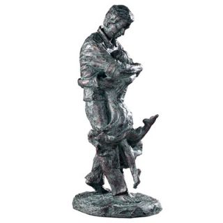 Uttermost Welcome Home Sculpture in Oil Bronze Patina