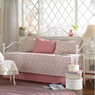 Laura Ashley Home Carlie Pink Daybed Set
