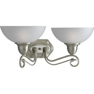Progress lighting arts and crafts vanity light p3004 46 for Arts and crafts bathroom lighting