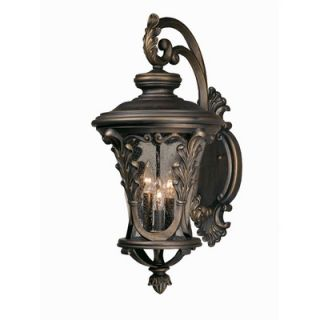 Triarch Lighting Caesar Outdoor Wall Lantern in Oil Rubbed Bronze