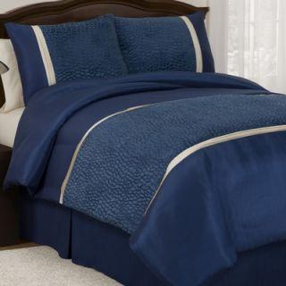 Lush Decor Animal Plush Comforter Set in Royal Blue   158