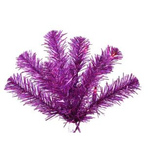 Vickerman 5 Artificial Christmas Tree with 200 Mini Lights in Purple