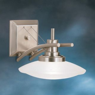 Kichler Structures Wall Sconce in Brushed Nickel