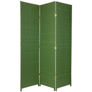 Oriental Furniture Woven Fiber Outdoor All Weather Room Divider in
