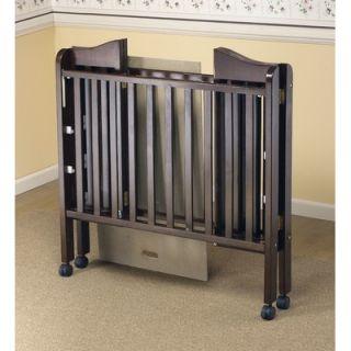 Orbelle Three Level Portable Crib in Espresso