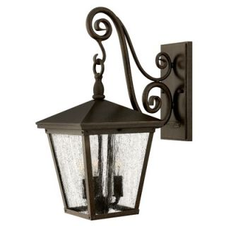 Hinkley Lighting Trellis Three Light Medium Outdoor Wall Lantern in