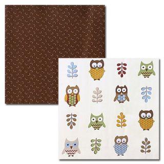 Sweet Jojo Designs Owl Crib Bedding Set   OWL BU 9