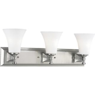 Progress Lighting Fairfield Wall Sconce Strip in Brushed Nickel