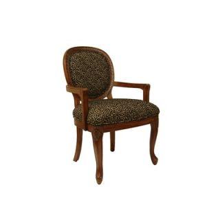 Royal Manufacturing Microfiber Arm Chair