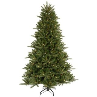 Three Piece Artificial Christmas Tree with 185 Clear Lights