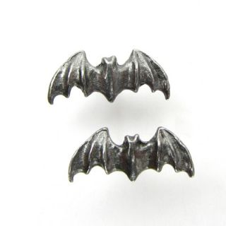 Design Toscano Vampire Bat Gothic Stud Earring