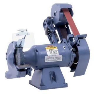 Baldor Abrasive Belt Grinders   1 1/2hp 1ph wheel & belt grinder 8x1