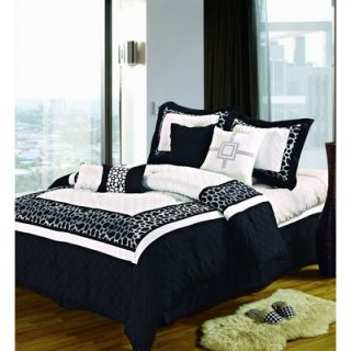 Luxury Home Animal Print Bed in a Bag   AnimalBIBB