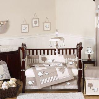 Sweet Jojo Designs Little Lamb 9 Piece Crib Bedding