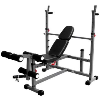 Mark Olympic Weight Bench with Leg Curl Attachment