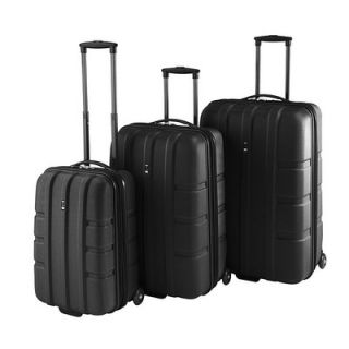 Travel Concepts Forge 3 Piece Expandable Hardsided Luggage